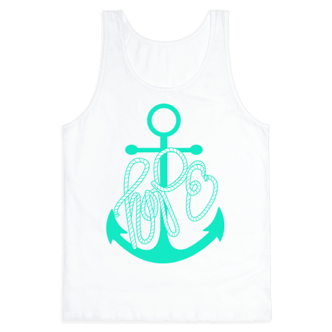 Hope (Green) Tank Top