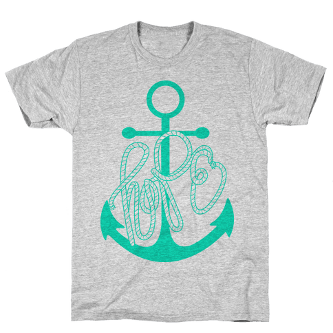 Hope (Green) Mens T-Shirt