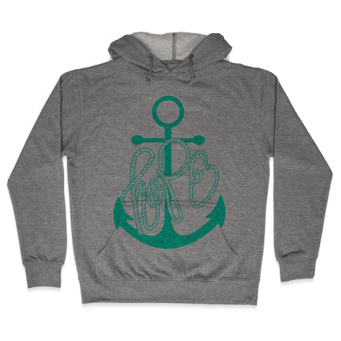 Hope (Green) Hooded Sweatshirt