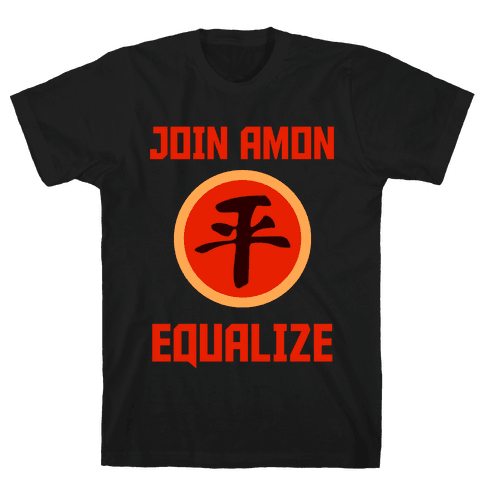 Join The Equalists Mens T-Shirt