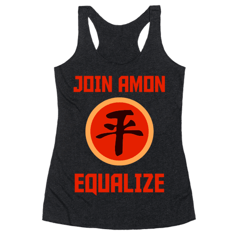 Join The Equalists Racerback Tank Top