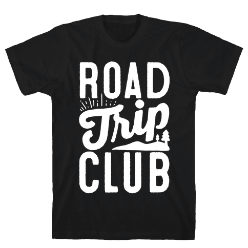 Road Trip Club Mens T-Shirt