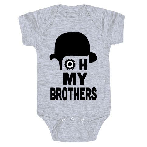 Oh My Brothers Baby Onesy