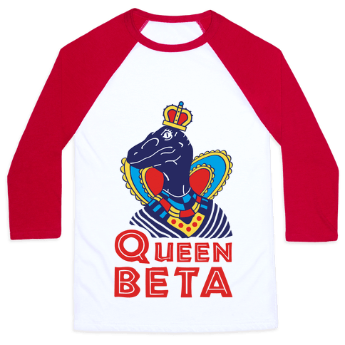 Queen Beta Baseball Tee