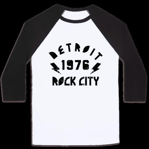 Detroit Rock City 1976 Baseball Tee