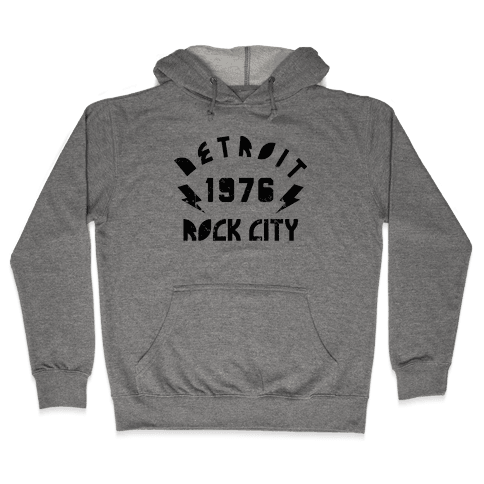 Detroit Rock City 1976 Hooded Sweatshirt