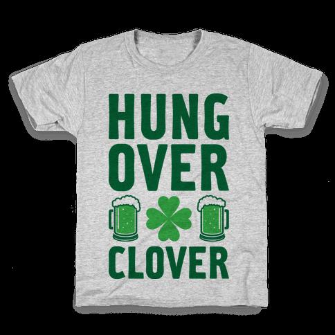 Hungover Clover Kids T-Shirt