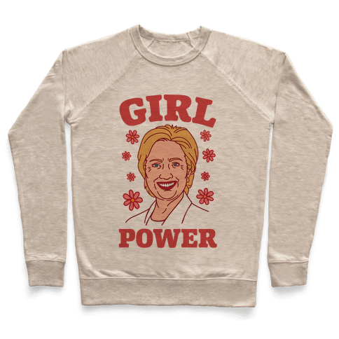 Girl Power Hillary Pullover