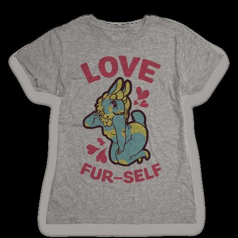 Love Fur-self Womens T-Shirt