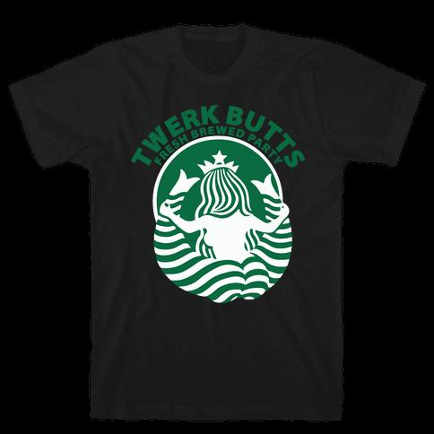 Twerk Butts (Shirt) Mens T-Shirt