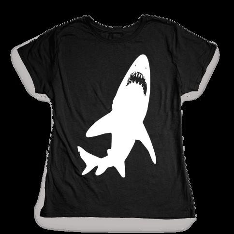 Stalking Shark Womens T-Shirt