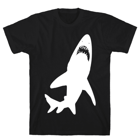 Stalking Shark Mens T-Shirt
