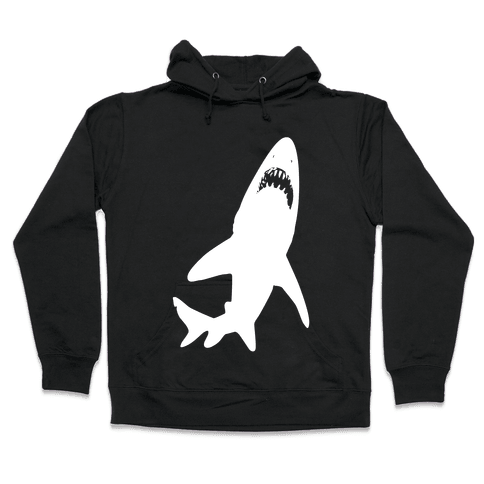 Stalking Shark Hooded Sweatshirt