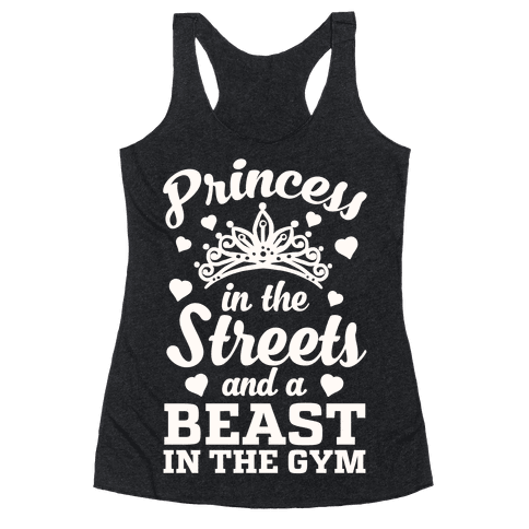 Princess In The Streets And A Beast At The Gym