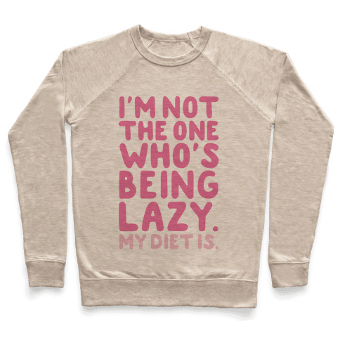 Lazy Diet Pullover
