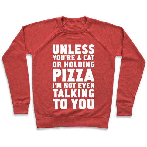 Unless You're A Cat Or Holding Pizza Pullover