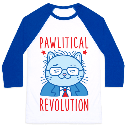 Pawlitical Revolution Baseball Tee