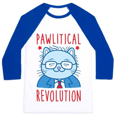 Pawlitical Revolution Baseball Tee