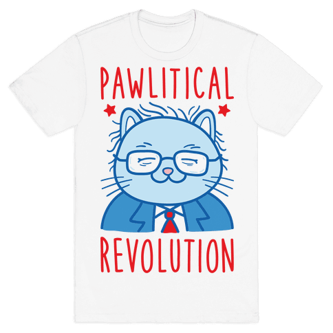 Pawlitical Revolution Mens T-Shirt