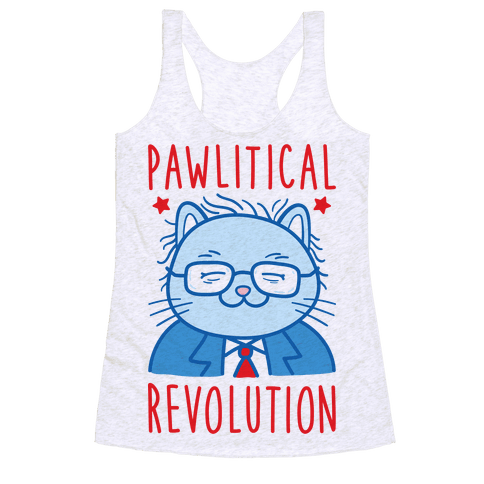 Pawlitical Revolution Racerback Tank Top