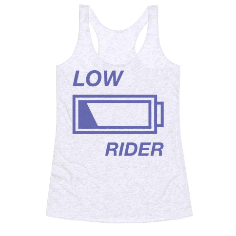 Low Rider Racerback Tank Top
