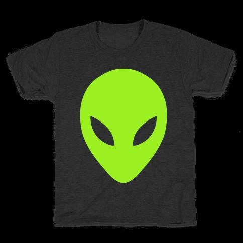 Alien Head Kids T-Shirt