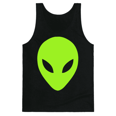 Alien Head Tank Top
