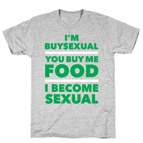 I'm Buysexual Mens T-Shirt