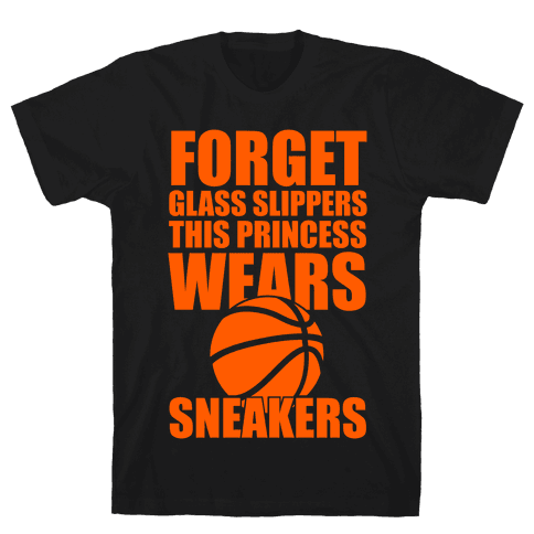 This Princess Wears Sneakers (Basketball) Mens T-Shirt