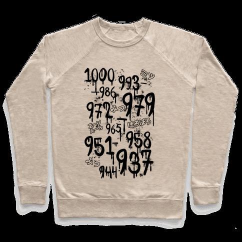 1000 Minus 7 Pullover