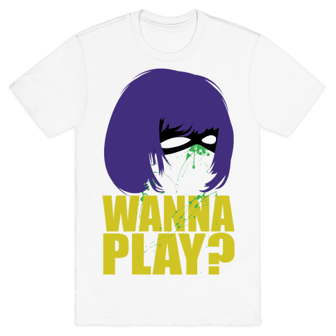 Wanna Play? Mens T-Shirt