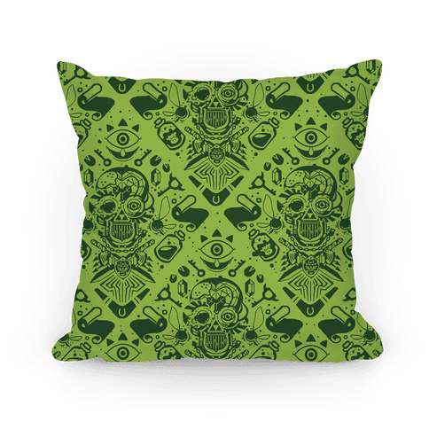 Legend Of Zelda Equip Pattern Pillow