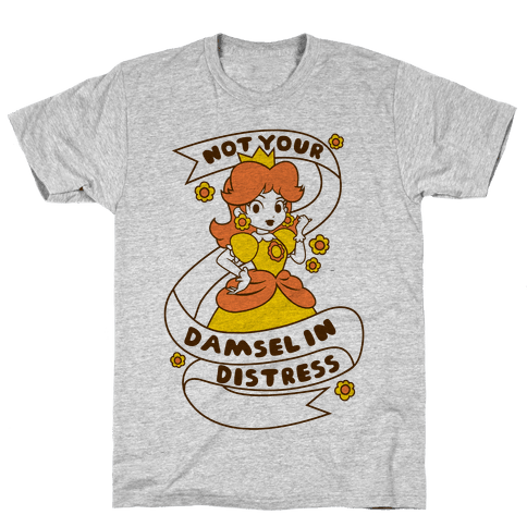 Not Your Damsel In Distress Mens T-Shirt