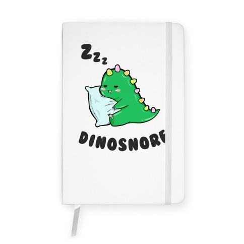 Dinosnore Notebook