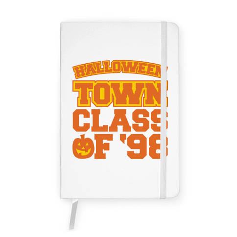 Halloween Town Class of '98 Parody Notebook