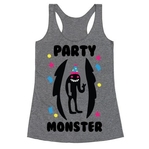 Party Monster : Mothman Racerback Tank Top
