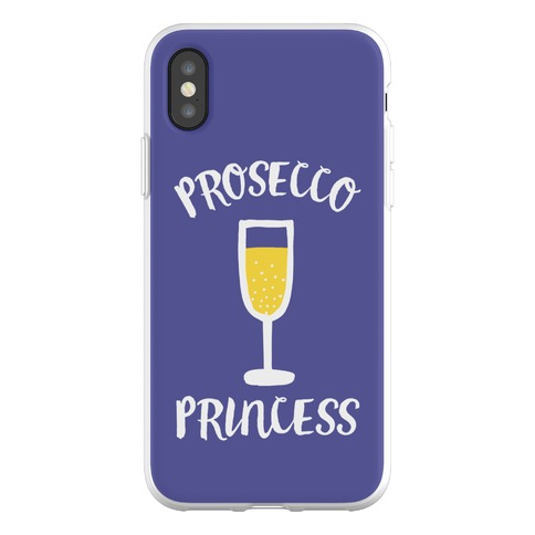 Prosecco Princess Phone Flexi-Case