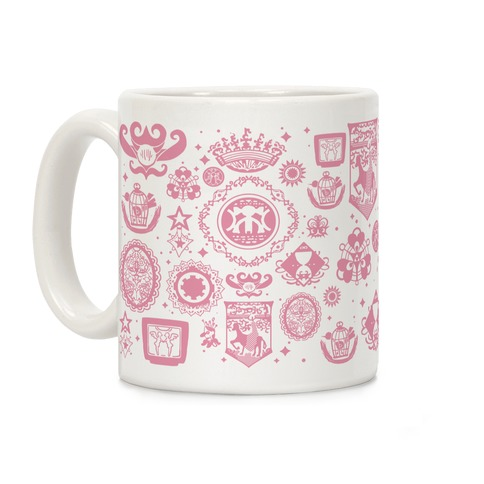 Madoka Magica Witches Kiss Coffee Mug