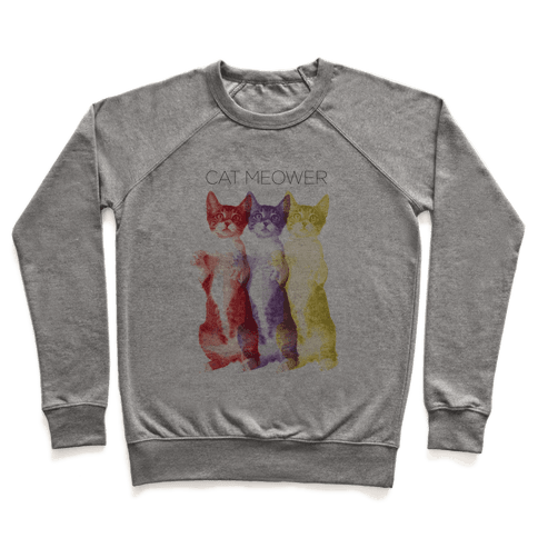 Cat Meower Pullover