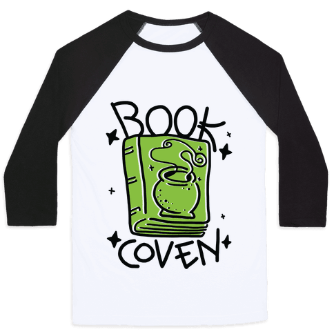 Book Coven Baseball Tee