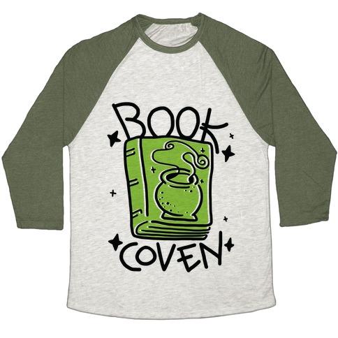 Book Coven Baseball Tee