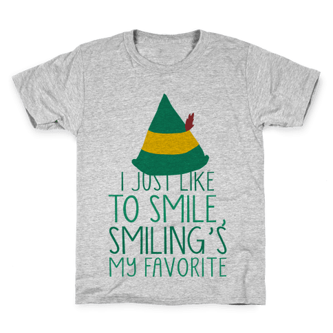 Smiling's My Favorite Kids T-Shirt