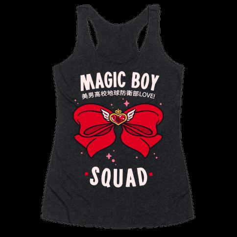 Magic Boy Squad (Red) Racerback Tank Top