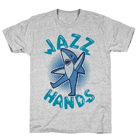 Left Shark Jazz Hands Mens T-Shirt