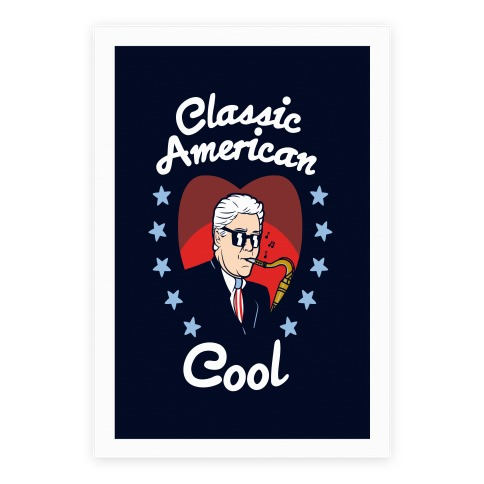 Classic American Cool Poster
