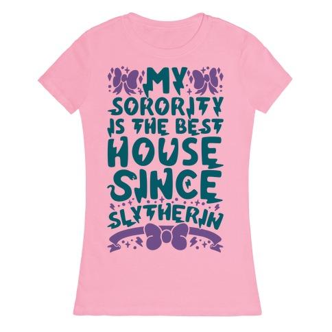 Slytherin Sorority Womens T-Shirt