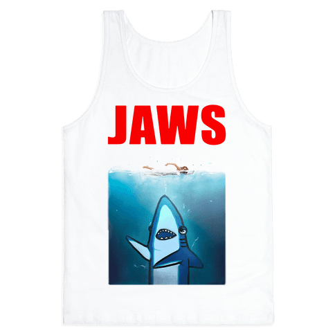 Left Shark Jaws Parody