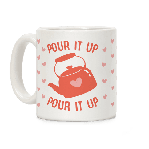 Pour It Up Tea Kettle Coffee Mug
