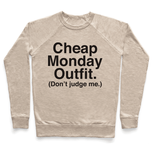 Cheap Monday Outfit (Don't Judge Me) Pullover