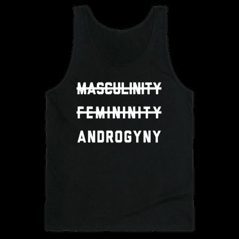 Masculinity Femininity Androgyny Tank Top